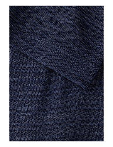 Bleu Gilet Street Blue One 11238 Femme Deep 6aqCwvqn5x