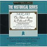 Wolfgang Amadeus Mozart : Intégrale des sonates pour violon & piano