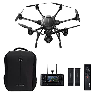 Yuneec Typhoon H Pro Bundle Ultra High Definition 4K Collision Avoidance Hexacopter Drone with 2 Batteries, ST16 Controller, Wizard and a Backpack