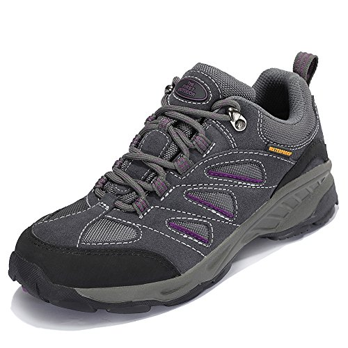 The First Outdoor Women's Air Cushion Hiking Shoe Breathable Running Outdoor Sports Shoes Sneakers, Gray (US 7.5)
