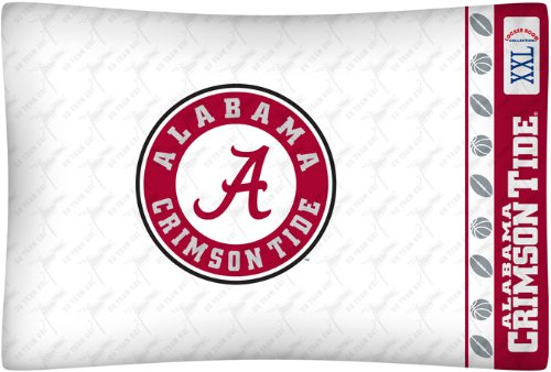 NCAA Alabama Crimson Tide Micro Fiber Pillow Case Logo