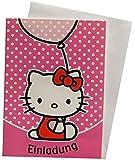 Sanrio Einladungskarten/Klappkarten Hello Kitty 41-7361