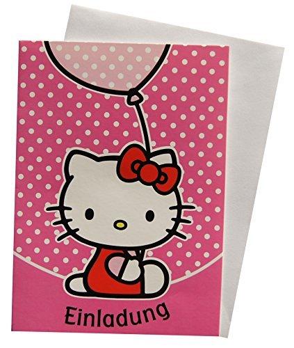 Sanrio Tarjetas De Invitación Tarjetas Hello Kitty 41
