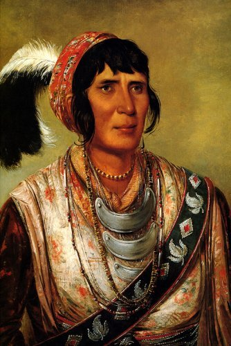 OS-CE-O-LA THE BLACK DRINK A WARRIOR OF GREAT DISTINCTION 1838 SEMINOLE INDIAN PORTRAIT BY GEORGE CATLIN 16