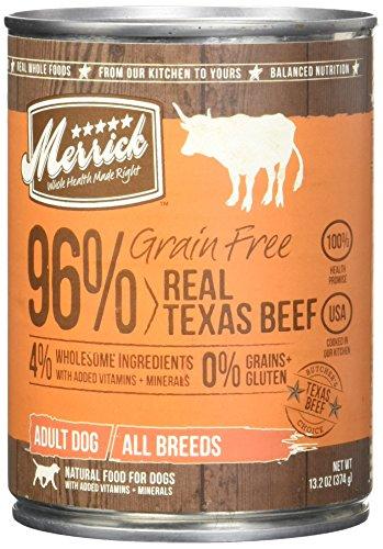 Merrick Grain Free Real Beef