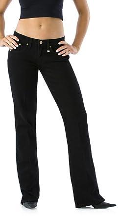 7ddc3ecb292 Cruel Girl Georgia Slim Black Over Dye Jeans at Amazon Women s Jeans ...
