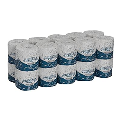 Angel Soft Ultra Professional Series 2-Ply Embossed Toilet Paper by GP PRO (Georgia-Pacific), 1632014, 400 Sheets Per Roll, 20 Rolls Per Convenience Case