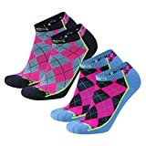 Brand 59 Diamond 2.0 Low Cut Golf Socks (2 Pairs)