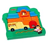 Little People Puzzle: School House by Toys