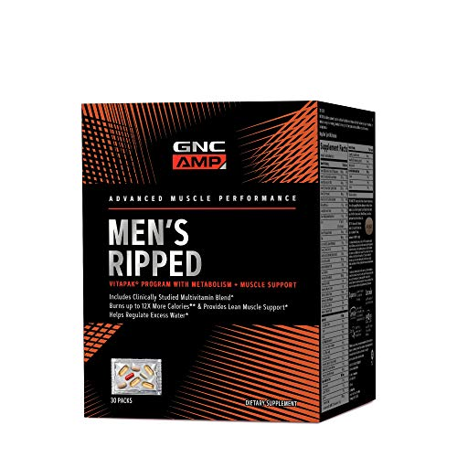 GNC AMP Mens Ripped Vitapak Program