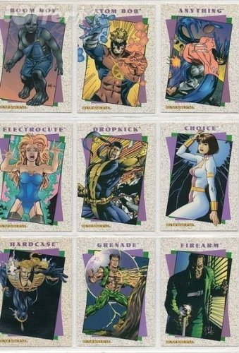 ULTRAVERSE II ORIGINS 1994 90-CARD COMIC ART CARD SET