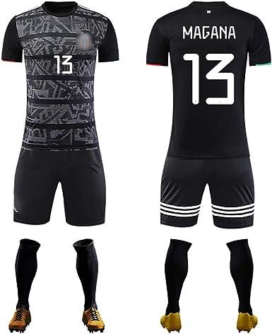GWCASA Mexico Jersey 2020 European Cup 13# Magana Soccer Uniform Children Adults Football T-Shirt Shorts Socks Kits