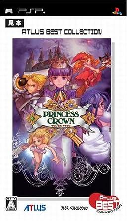 プリンセスクラウン アトラスベストコレクション , PSP