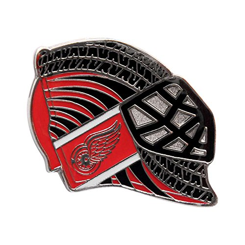 - NHL Detroit Red Wings Goalie Mask Pin