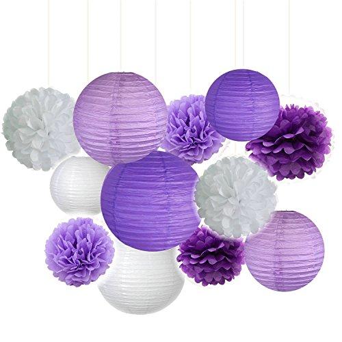 Fascola Lavender Honeycomb Lanterns Decoration product image