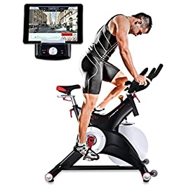 Sportstech Professional Indoor Cycle SX500 with Smartphone A...