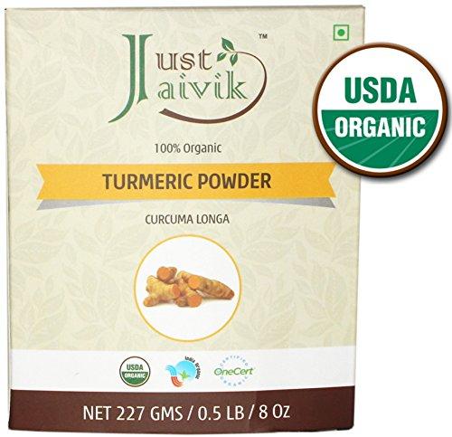 Just Jaivik Organic Turmeric Curcuma product image