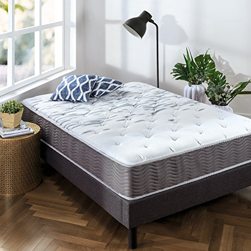 Zinus 10 Inch Performance Plus/Extra Firm Spring Mattress, Queen