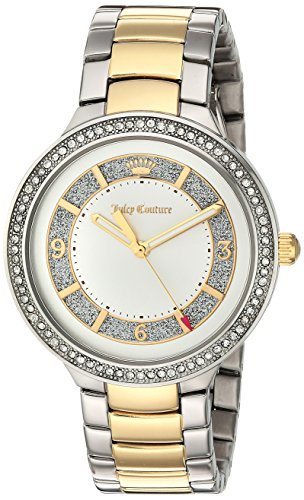 Juicy Couture Women's 1901402 Catalina Analog Display Japanese Quartz Two Tone Watch