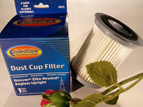 Hoover Vacuum HEPA Dust Cup Filter Elite Rewind Fusion Legacy