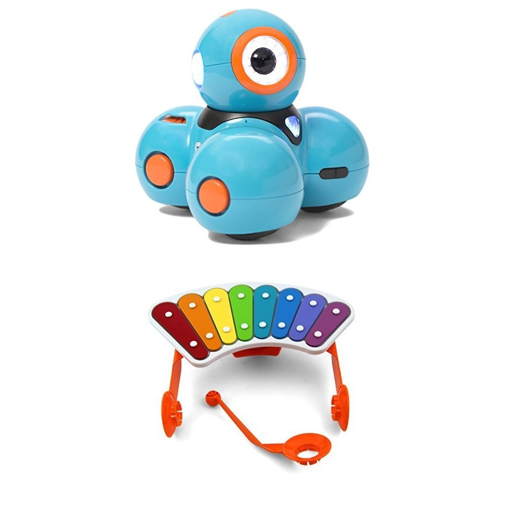 Wonder Workshop Dash Robot with Wonder Workshop Xylophone for Dash Robot Bundle by  (Image #1)