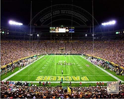 (Lambeau Field Green Bay Packers Stadium Photo (Size: 8