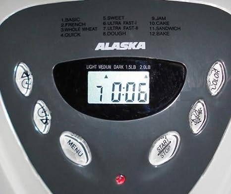 Alaska - Panificadora bm2600 # 600 W # Panificadora para 900 g Pan ...