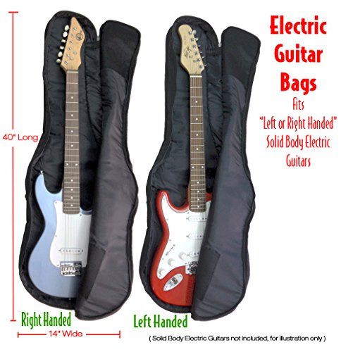 Performance Plus GBE360 Guitar Gig Bag Ballistic Grade Nylon for Most Solid Body Electric (Access Gig Bags)