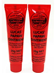 Lucas Papaw Ointment 25g Tube - TWIN Pack for value
