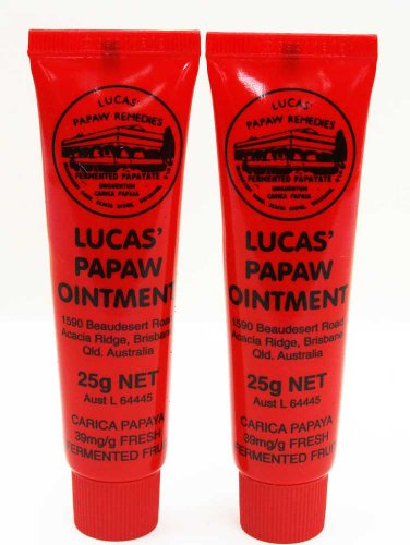 25g Ointment (Lucas Papaw Ointment 25g Tube - TWIN Pack for value)