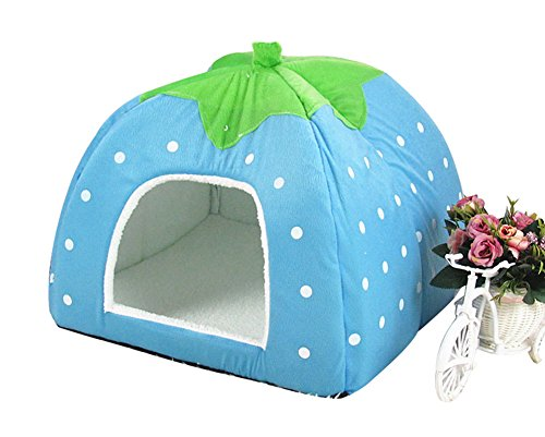 freerun-cute-soft-strawberry-small-cotton-soft-dog-cat-pet-bed-house-blue-xxl