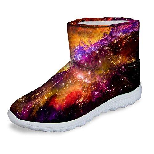 Winter U Men Snow Carnival Multi Flat DESIGNS Awesome 1 FOR Boots Galaxy Waterproof YwHqdYT