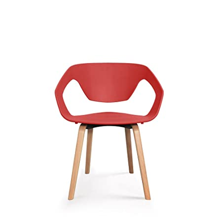 Couleur 2 Design Danwood Scandinave Drawer Rbodcex Rouge De Lot Chaises IWD9bEeYH2