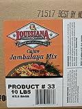 Louisiana Cajun Jambalaya Mix 2.5 Lb (4 Pack)