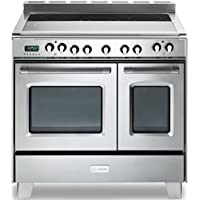 Verona Classic VCLFSEE365DSS 36 Electric Double Oven Range Convection Stainless Steel