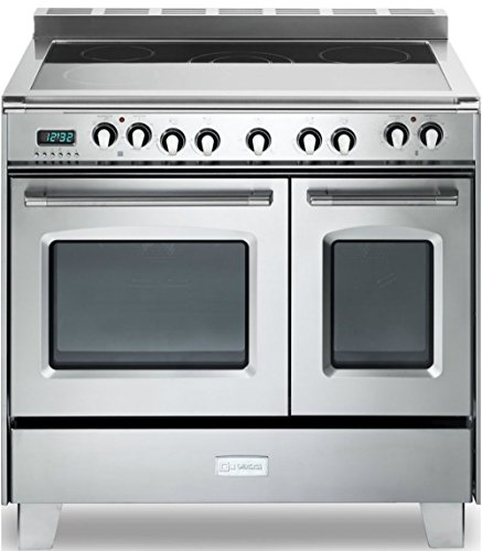 Verona Classic VCLFSEE365DSS 36″ Electric Double Oven Range Convection Stainless Steel