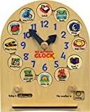 made in usa wood clock - My Activity Clock - Made in USA
