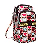 Cute Mini Crossbody Bag for Women Small Handbags Wristlet Wallet Shoulder Bag Cell-phone Pouch Coin Purse (D)