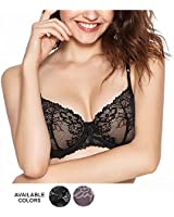Rosme Womens Unpadded Bra Collection...