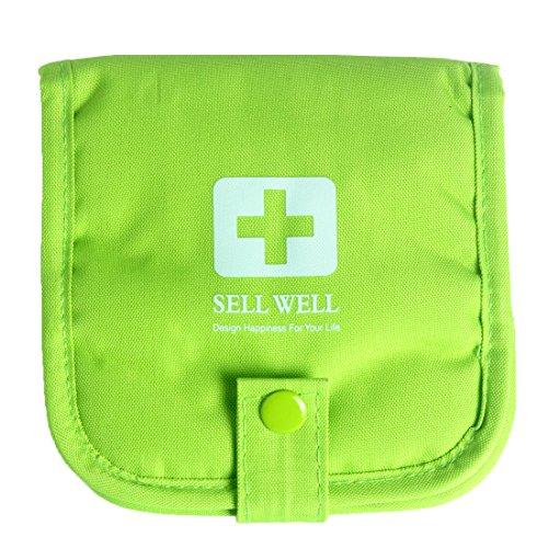 Leere tragbare Mini-Erste-Hilfe-Tasche YJYB-01 (Grün)