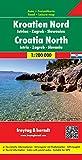 Carte routière : Croatie Nord - Istrie-Zagreb