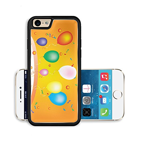 Liili Premium Apple iPhone 6 iPhone 6S Aluminum Backplate Bumper Snap Case Image ID 22022735 party colorful (Balloon Coupon)
