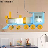 Leihongthebox Ceiling Lights lamp  Sepia train children's room chandeliers boys Ceiling lamp led lights that 620800mm,620800mm