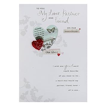 Hallmark Birthday Card For Partner Lover Partner And Friend