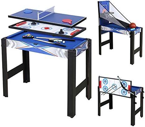 HLC 5in1 게임 세트 테이블 테니스 하 키 당구 농구 양궁 게임 ... 91.5×48×76cm / HLC 5in1 Game Set Table Tennis Hockey Billiards Basketball Archery Game ... 91.5 x 48 x 76 cm