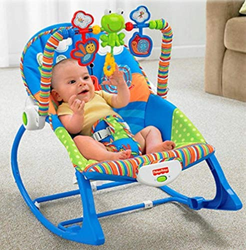 BEYHOOH Baby Rocking Chair, Multifunctional Lightweight Rocking Chair Electric Baby Soothing Rocking Chair Kids Rocking Rocking Chair Swing Bed