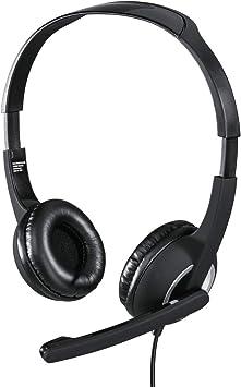 Hama Pc Headset Mit Mikrofon Schwarz Elektronik