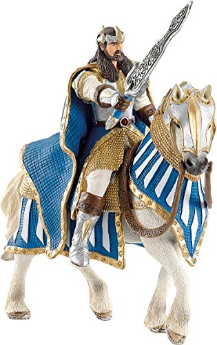 Schleich Griffin Knight King On Horse Toy Figure (King Knights Of)