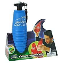 Speed Stacks Competition Cups Play Set - 12 BLUE Cups with DVD