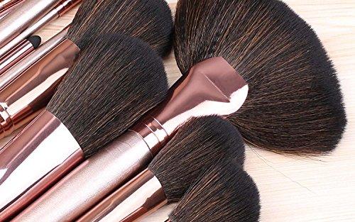 QCBC 24 Makeup Pinsel Set Anfänger 'Makeup Tool Full Set von Blush Red Eye Shadow Brush Foundation Pinsel Kreative Geschenkideen
